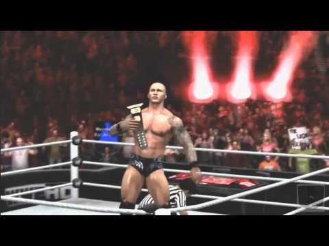 WWE SvR Classic #1 The Miz Wins WWE Title November 22nd 2010 SvR11