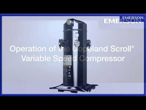 Copeland Scroll Variable Speed Compressor -XfXVmksODTM