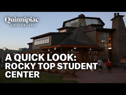 A Look Inside Quinnipiac University's Rocky Top Student Center