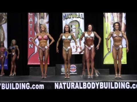 2012 INBA/PNBA Natural Olympia - Pro Figure Prejudging