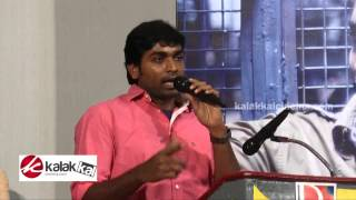 Watch Vijay Sethupathi at Chennai Ungalai Anbudan Varaverkiradhu Audio Launch Red Pix tv Kollywood News 28/Jan/2015 online