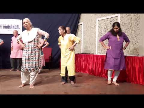 पार्किन्सन्सच्या रुग्णांनी सादर केलेला नृत्याविष्कार