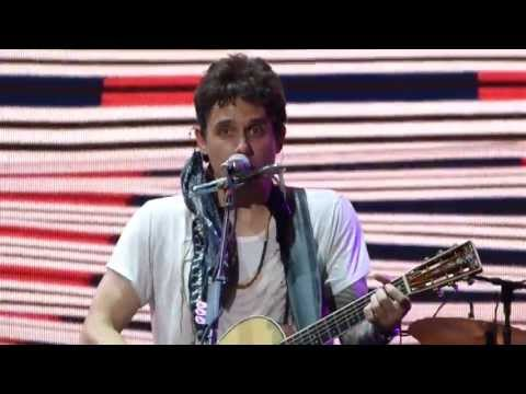 """""""Whiskey, Whiskey, Whiskey"""" - John Mayer in Maryland Heights, MO on July 7th, 2013"""