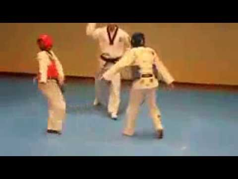 Karate fight turns into dancing