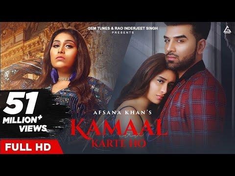 Kamaal Karte Ho: Afsana Khan | Paras Chhabra & Mahira Sharma | Goldboy | New Hindi Song 2020