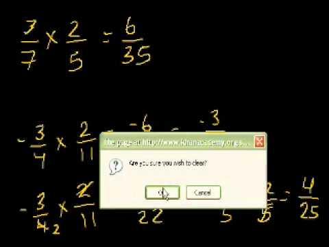 Moltiplicazione di Frazioni (vecchio)
