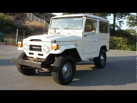 FJ40 Land Cruiser Toyota 5,800 Original Miles & Paint JEEP Crawler