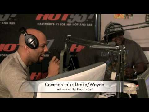 Common talks Drake/Wayne & State of Hip Hop!