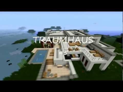 Minecraft modern house 5 modernes haus hd for Minecraft haus modern