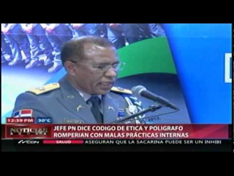 Jefe PN dice código de ética y polígrafo romperían…