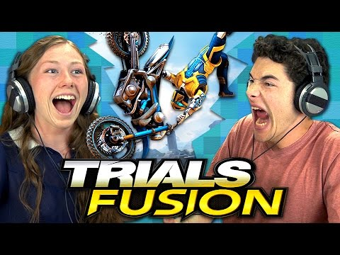 TRIALS FUSION (Teens React: Gaming)