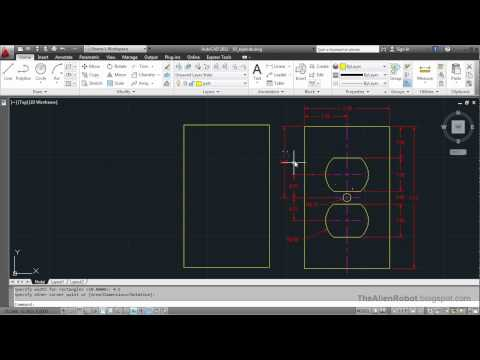 AutoCAD 2012 Introduction Training-0910 Exploding objects