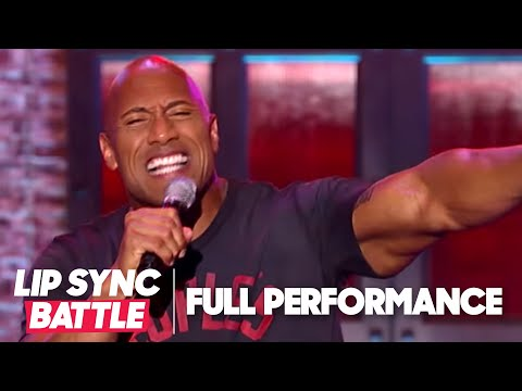 Dwayne Johnson's Shake It Off vs Jimmy Fallon's Jump In The Line | Lip Sync Battle