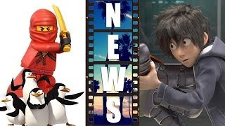 Ninjago Movie 2016, Big Hero 6 First Look, Penguins of Madagascar 2014?! - Beyond The Trailer
