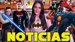 Trailer de Justice League, Pacific Rim 2, Spawn y más.