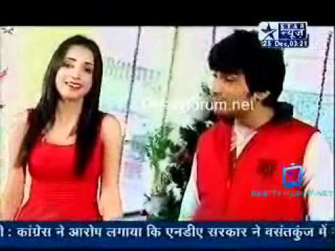 MONAYA (MOHIT SEHGAL SANAYA IRANI) CUTE SEGMENT PART 3 SBS 25 DEC 2010