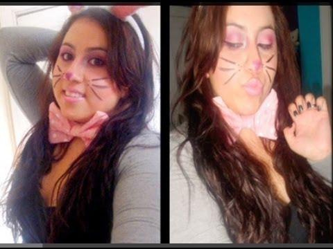Bunny Rabbit Halloween Face Makeup Halloween Cute Bunny Makeup