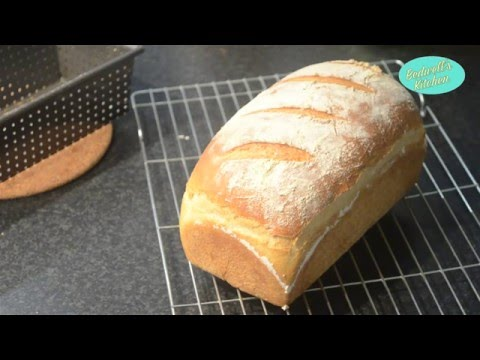 How to Bake a White Bread Loaf from Scratch  - Baking Tutorial - Bedwell's Kitchen