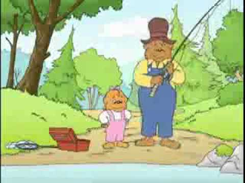 The Berenstain Bears - The Perfect Fishing Spot (1/2) -XqSg0Hq3RwU