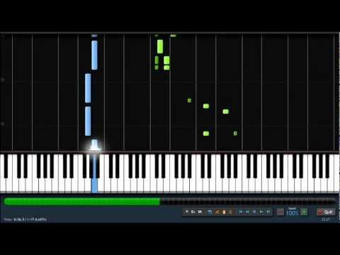 He's a Pirate - Easy Piano Tutorial (100% Speed) Synthesia