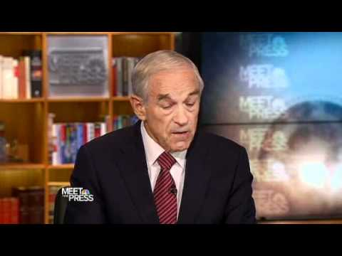 Meet the Press (10/23/11): Ron Paul