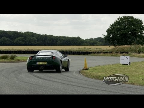 MotoMan - Evora on the Lotus Test Track -- MotoMan.TV