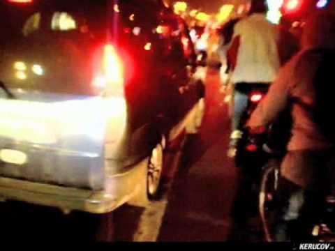 VIDEOCLIP Seara pe bicicleta prin Bucuresti (Bicicleta 8)
