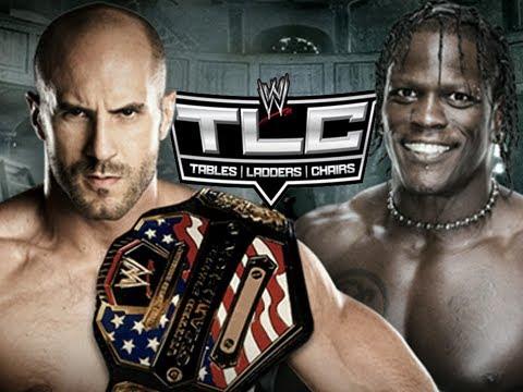 WWE TLC 2012 - Antonio Cesar vs R-Truth - US Title (WWE 13 Machinima)