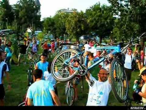 VIDEOCLIP BikeWalk Romania 24 iulie 2010 - Pentru ca suntem multi!
