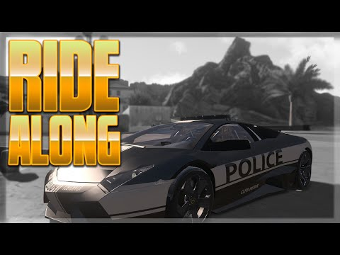 Police Ride Along - (Arma 3)(City Life RPG)