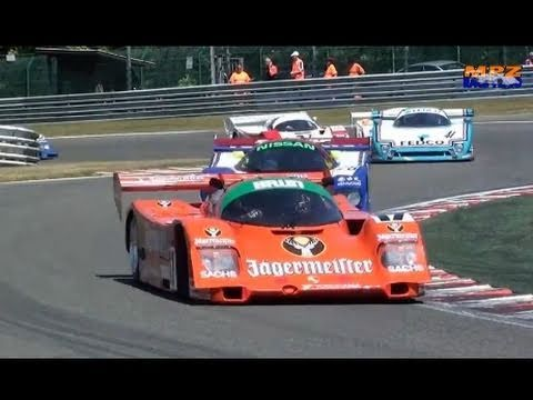 Legendary Group C Cars Spa Francorchamps 2011 great Sounds Porsche 956 Sauber C11 Lancia LC2 Gr. C