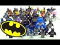 Ultimate LEGO Batman Minifigure Collection Updated June 2017 ????