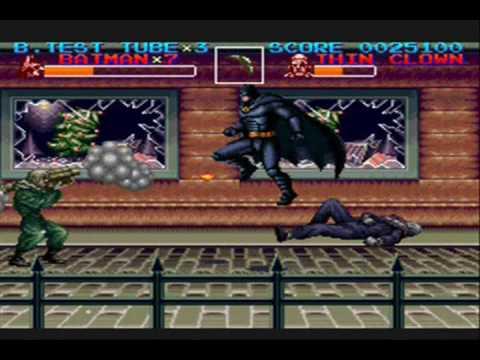 Kwing Game Reviews - Batman Returns Game Review (Snes)
