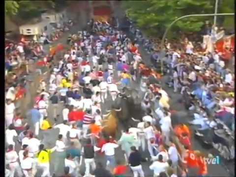 Encierro de San Fermín   12 de julio de 1998 480p