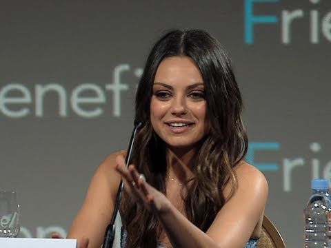 Mila Kunis from Friends With Benefits Confirms Date for Marine Corps Ball