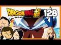 Dragon Ball Super 128 reacción - El Ultra Instinto 100% - Vegeta se cuelga