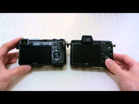 Sony NEX-7 vs. Nikon V1: Size Comparison