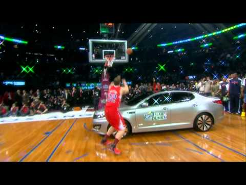 Blake Griffin Jumps Over A Car - Sprite Slam Dunk Contest