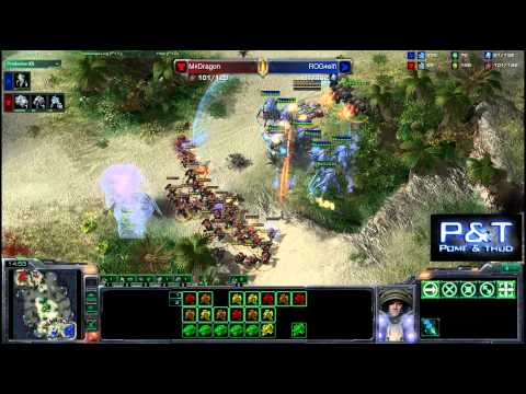 (HD492) Dragon vs Elfi - TvP - G1 - Starcraft 2 Replay [FR]