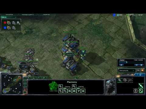 HD SC2 LZgamer v Nocturn part 1 (Non stop action)