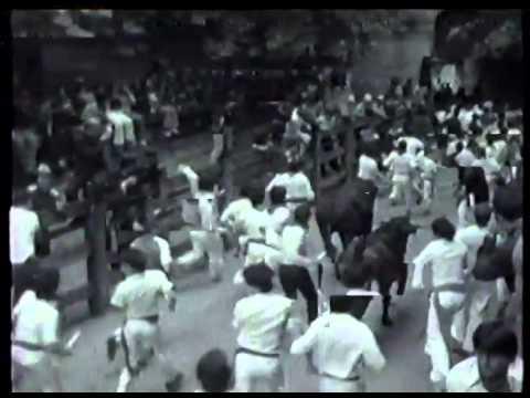 Encierro San Fermin Pamplona del dia  12 7 1979 Martínez Benavides