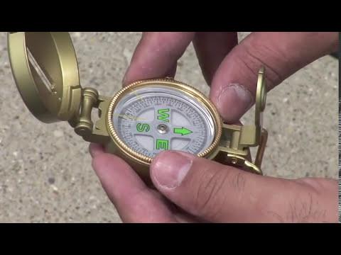 Magnetic Lensatic Compass