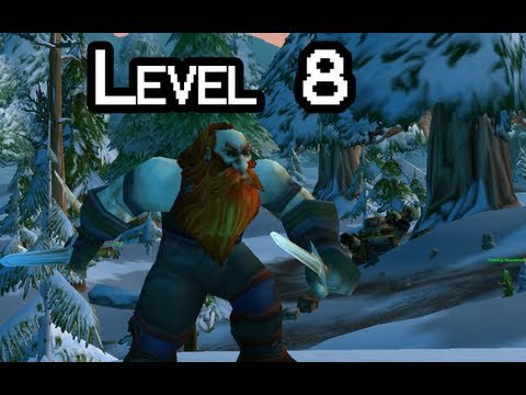 Let-s Play WoW with Nilesy - Level 8 (World of Warcraft gameplay)