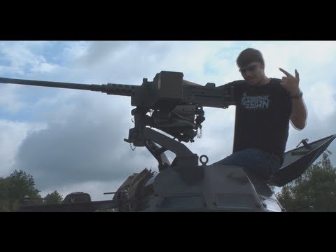 50 Cal Machine Gun VS. 250 Watermelons