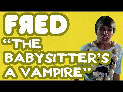 Fred Figglehorn - The Babysitter-s a Vampire - Official Music Video