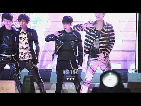120506 2012 Guri Hangang Canola Festival - History Baekhyun focus [preview]