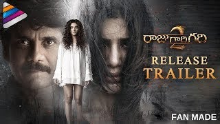 Raju Gari Gadhi 2 Release Trailer  Motion Teaser  Nagarjuna  Samantha  Seerat Kapoor  Fan Made