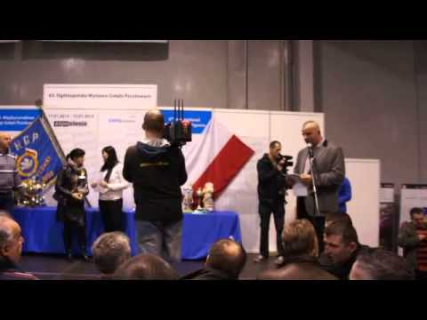 Wystawa Gołębi - Sosnowiec 2013 - wręczanie nagród - Barcelona 2012 - część 6
