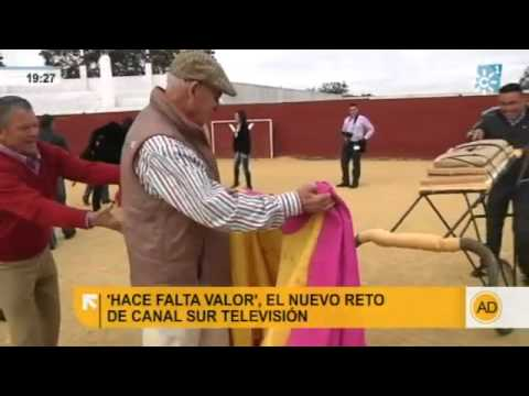 """Así será """"Hace falta valor"""", el nuevo programa taurino de Canal Sur TV"""