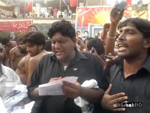 Ravi Road Reciting Noha Jadoo Akbar(a.s) Latheya At Sehwan 2012